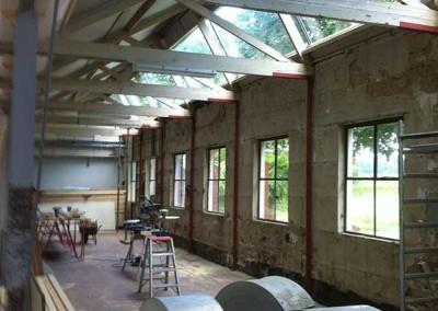 Renovatie voormalig wasserij Hunekamp te Loenen